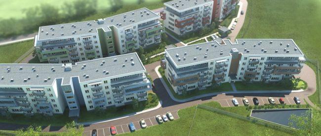 nowe mieszkania w krakowie - nowa huta ulica niebyla