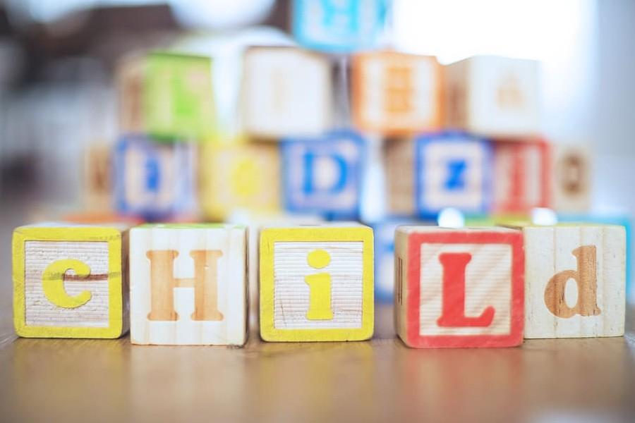 dziecko na kursie angielskiego